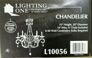Details About Chandelier Hunter Lighting Group Antique Br Beaded Hanging Light L10056