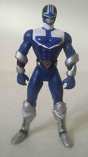FIGURINE POWER RANGERS TIME FORCE - BLUE VECTOR CYCLE RANGER BLEU - BANDAI 2000