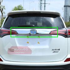 New ABS Chrome Rear Door Trunk Moulding Trim For Toyota RAV4 2016 2017