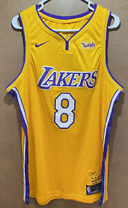 Kobe Bryant Jersey Xl Nike Swingman Lakers #8 todos cosido con ...