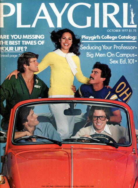 PLAYGIRL October 1977  STARSKY & HUTCH Cults