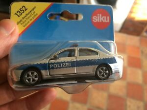 SIKU-1352-POLICE-CAR-BMW-OUT-OF-PRODUCTION