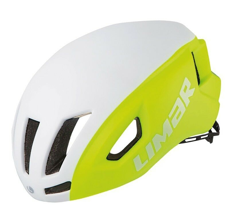 Limar air speed bike helmet  matte white yellow  affordable