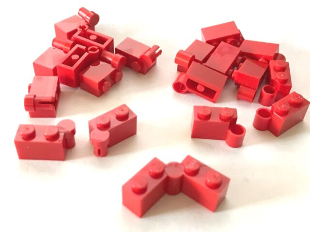 LEGO Lot of 12 Red 1x4 Building Bricks Parts Pieces
