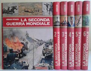 La seconda guerra mondiale vol. dall 1 al 6 - A. Petacco ed. Curcio