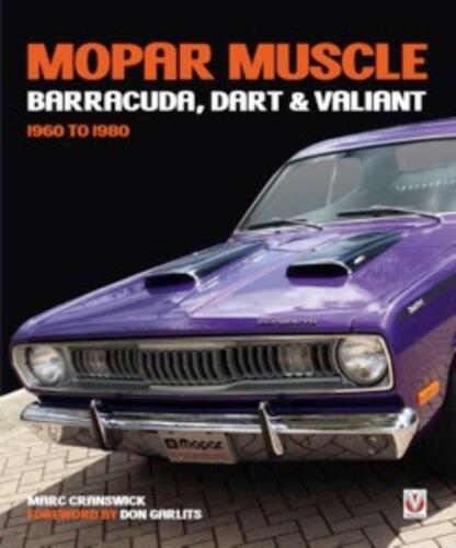 Dart /& Valiant 1960-1980 New Book MOPAR Muscle Barracuda