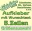 5-Zeilen-Aufkleber-Beschriftung-50-120cm-Werbung-Sticker-Werbebeschriftung Indexbild 1