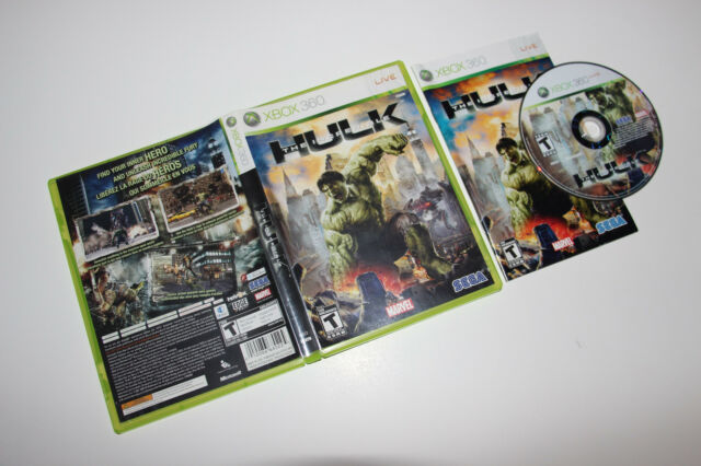 The Incredible Hulk (Xbox 360, 2008)