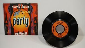 Westbam-and-party-7-034-Mix-7-034-Single-1989-VG-VG-889-476-7
