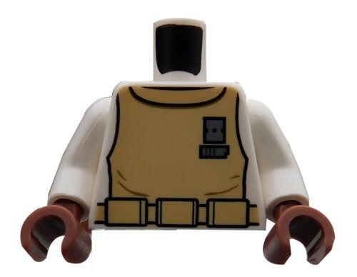 Lego Torso Admiral Ackbar 973pb0604c01 Oberkörper in weiss Star Wars Neu