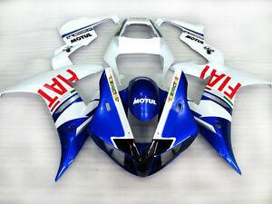 Nuovo-ABS-Vernice-Carene-Carenatura-Per-2002-2003-Yamaha-YZF-1000-R1-A