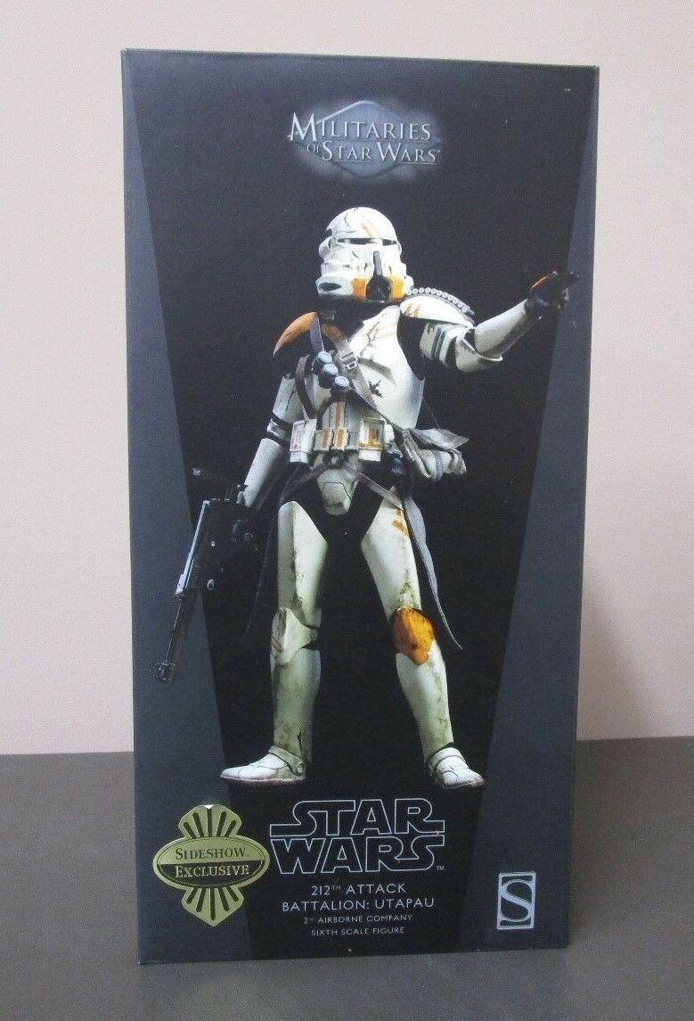 212th Attack Battalion Utapau Trooper STAR WARS SIDESHOW Collectibles 1 6 Scale