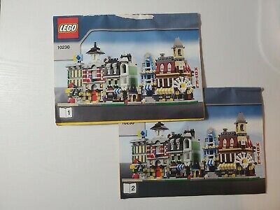 INSTRUCTIONS ONLY INSTRUCTIONS ONLY Lego MINI MODULARS 10230