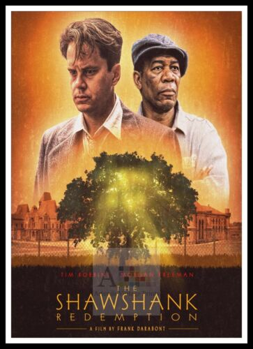 The Shawshank Redemption 2 Poster Greatest Movies Classic /& Vintage Films