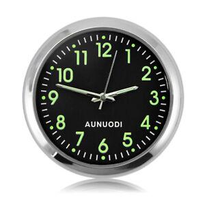 Mini-Uhr-Im-Auto-Luminova-Mechanics-Quarz-Taktgeber-Mini-Auto-Uhr-Digital-Aut-5A