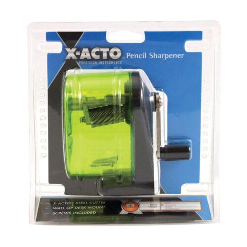 X-Acto Pencil Sharpener Standard Size Pencils Desk Wall Mount  Assorted colors