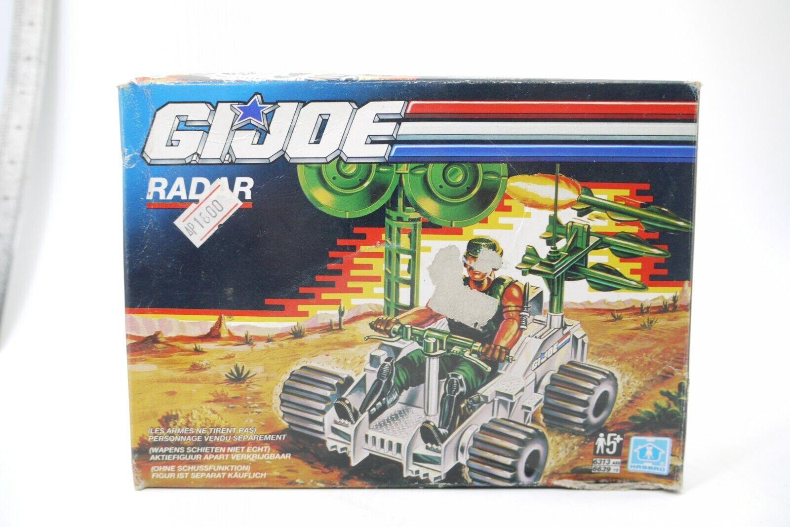 G.I Joe 1989 RADAR RAT BATTLEFIELD ROBOT MIB 100% COMPLETE