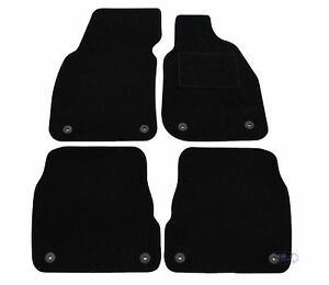 Quality Fully Tailored Black Floor Car Mats Fits To Audi A6 C5