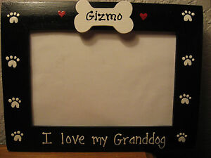 I Love My Granddog Custom Personalized Grandparents Pet Photo
