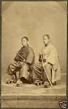 Samurai Warriors Yakunins Japan 1870, Reprint Photo 7x4 inch