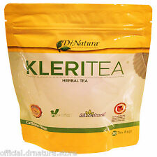 DrNatura Colonix Herbal KleriTea Kleri Tea Sealed New Caffeine Free 30 Tea Bags