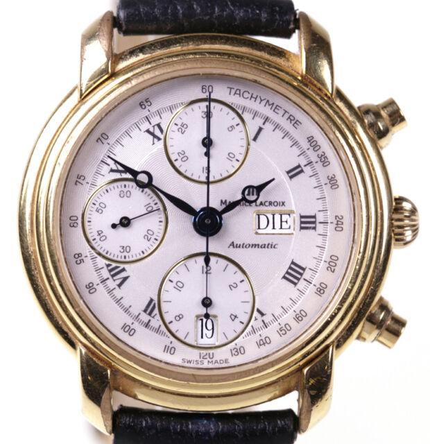 HAU MAURICE LACROIX Masterpiece Croneo Ref. 39353 Automatik Chronograph