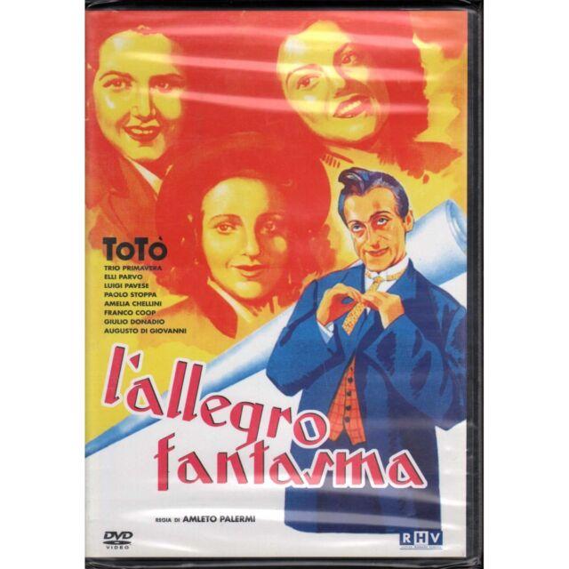 Toto' L'Allegro Fantasma DVD Toto' / Paolo Stoppa RHV  Ripley'S Sigillato