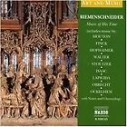 Riemenschneider: Music of His Time