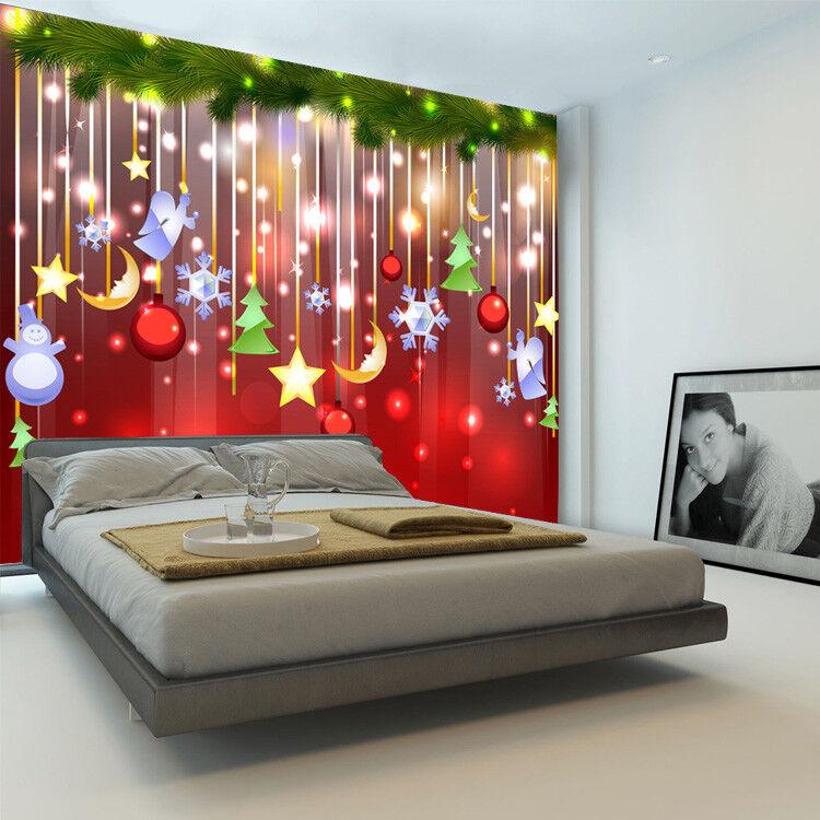 3D Weihnachtselement 73 Tapete Wandgemälde Tapete Tapeten Bild Familie DE