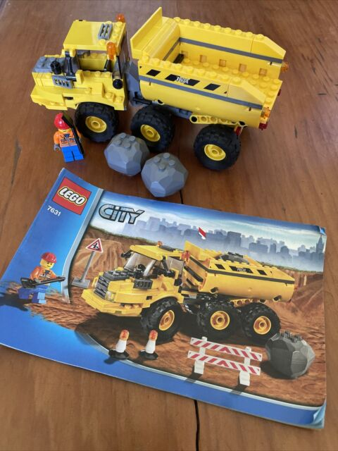 LEGO City Construction Dump Truck 7631 with instructions