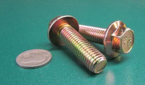 Flanged Cap Screw Bolt Steel 8.8 Metric M12 x 1.75 x 40 mm Length 20 Pc PT