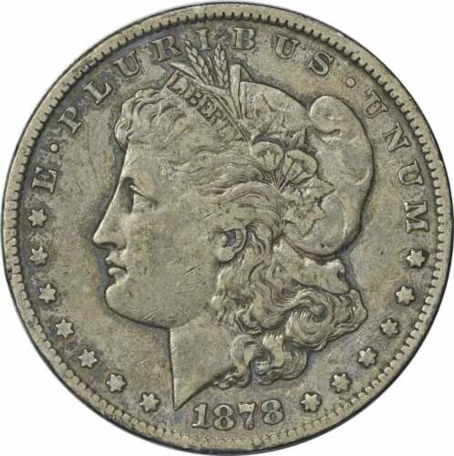 1878-CC Morgan Silver Dollar Uncertified VF