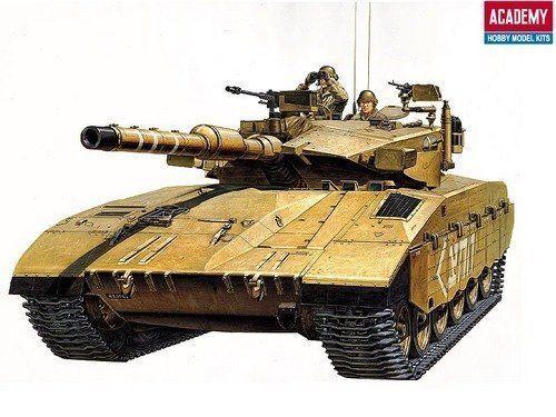 Academy AC13267 1  35 IDF Merkava Mk III Panzer