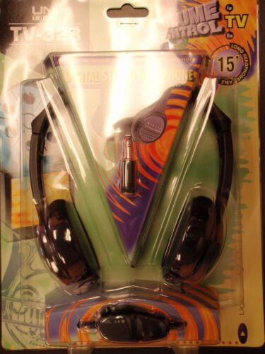 walkman style stereo mono in line volume Stereo headset with 3.5 mm connector