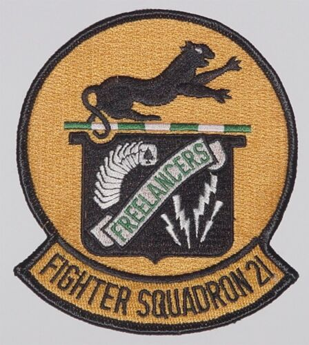 """USA Aufnäher Patch Fighter Squadron VF 21 /""""Freelancers/"""" ...........A2580"""
