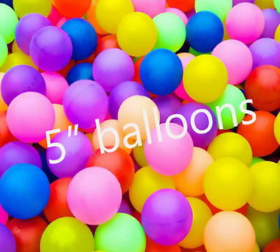 """5/""""inch Small Best Latex Balloons 50 Quality Standard ballon ROSE GOLD Colour UK"""