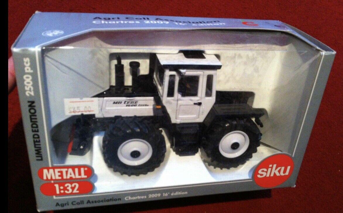 SIKU MERCEDES BENZ MB TRAC 1600 Turbo TRACTEUR AGRI coll Association Blanc