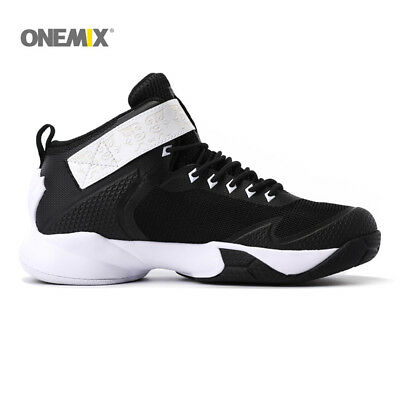 ONEMIX Men's Basketball Shoes Ankle Boots Anti-Slip Sneakers For Outdoor Sports