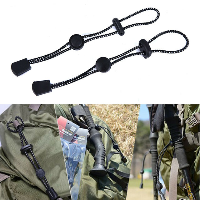1pc Mountaineering Backpack, External Climbing Pole Buckle Fixed Elastic RopeTOC