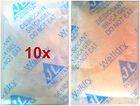 10x 10gm Reusable Silica Gel Desiccant Moisture Absorber dehumidifier reusable