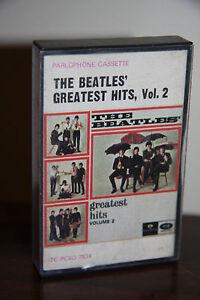 Rare-Australian-The-Beatles-Greatest-His-Vol-2-Cassette-Tape-Parlophone