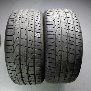 2x-Pirelli-P-Zero-AO-255-40-r20-101y-Dot-2818-6-5-mm-pneus-d-039-ete