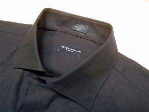 Peter-Millar-Collection-Cotton-amp-Silk-Blend-Navy-Sport-Shirt-NWT-XL-228