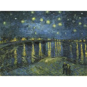 Vincent-Van-Gogh-Starry-Night-Canvas-Art-Print-Poster