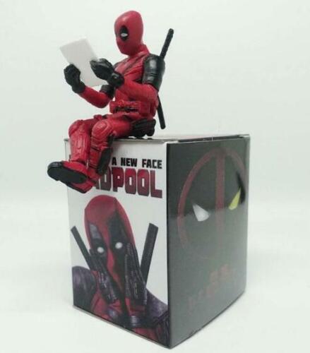 Desk Decoration Deadpool Car Home Office 8cm MINI-FIG Figure Marvel Super Hero