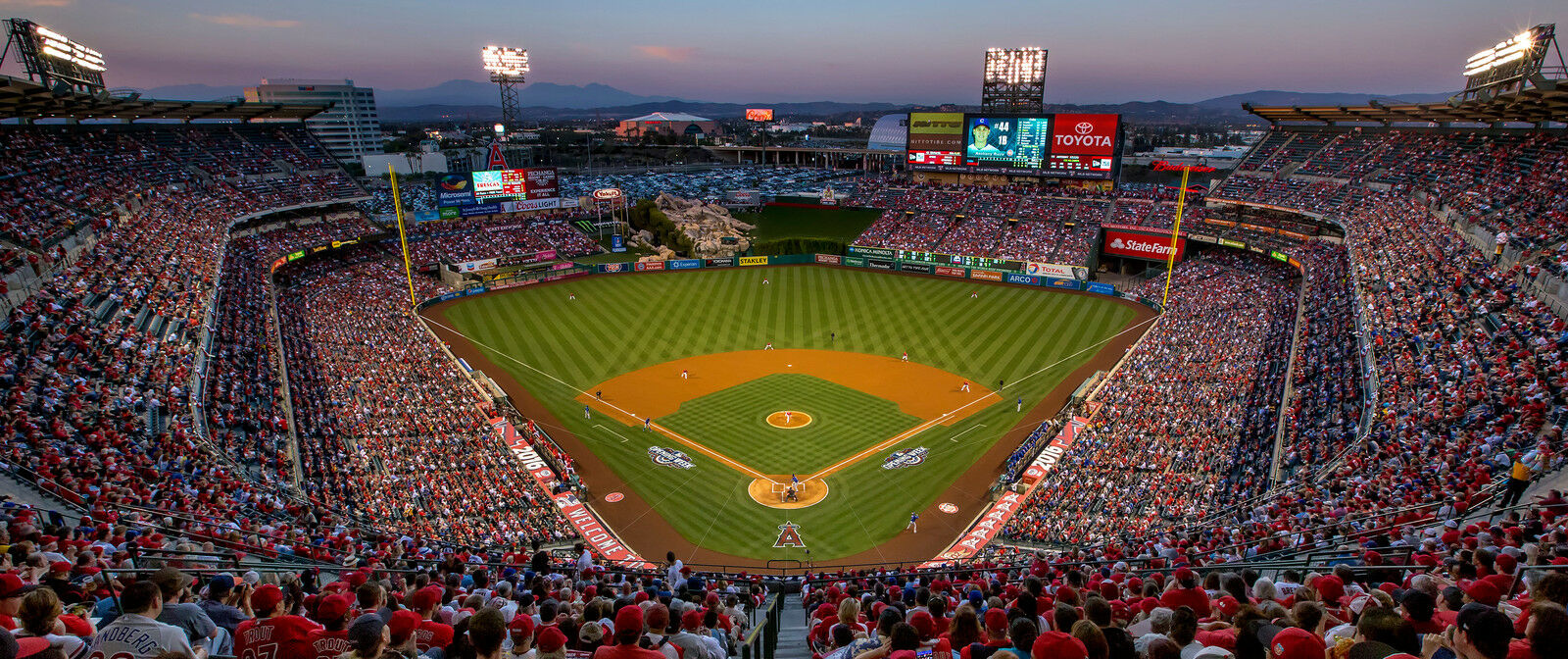 Cleveland Indians at Los Angeles Angels