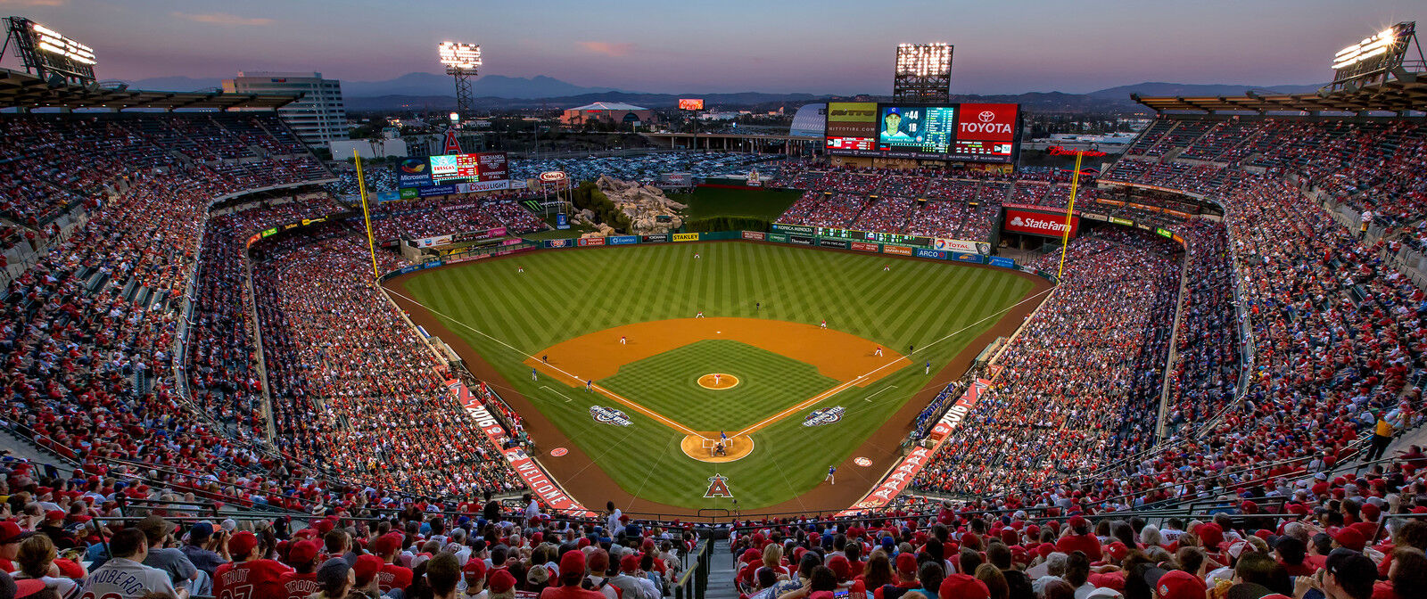 Toronto Blue Jays at Los Angeles Angels Tickets (Trout Nutcracker)
