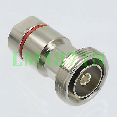 """7//16 DIN Male and Female center clamp for 1//2/"""" corrugated cable RF connector USA"""