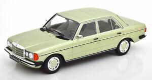 Mercedes-280e-w123-1977-verde-palido-metalizado-1-18-KK-scale-180353