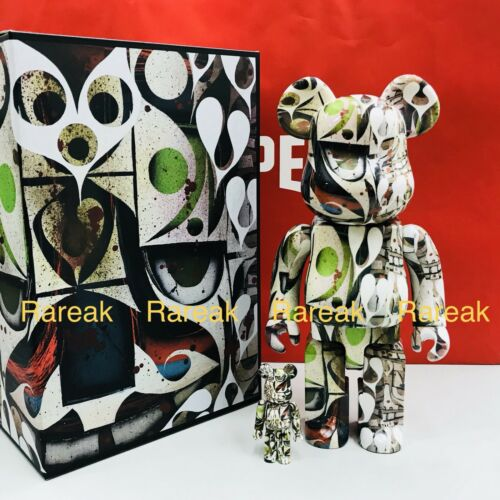 100/% version #1 bearbrick Set Medicom Be@rbrick 2018 Phil Frost 400/%